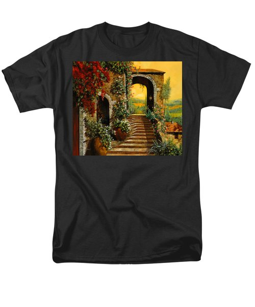 le scale   T-Shirt by Guido Borelli