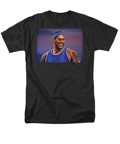 Lebron James  Men's T-Shirt  (Regular Fit) by Paul Meijering