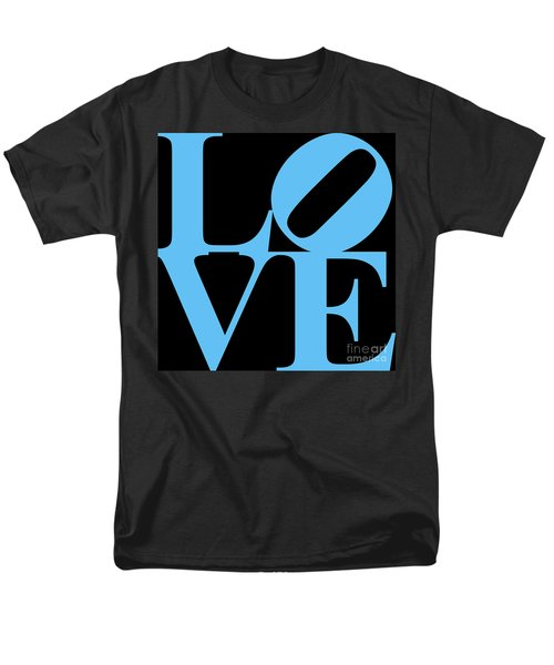 LOVE 20130707 Blue Black T-Shirt by Wingsdomain Art and Photography