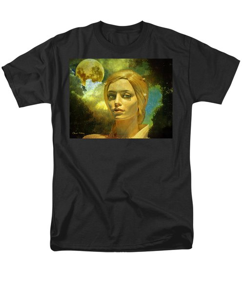 Luna in the Garden of Evil T-Shirt by Chuck Staley