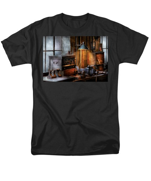 Machinist - My Workstation T-Shirt by Mike Savad