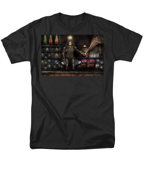 Mad Scientist - The Enforcer T-Shirt by Mike Savad