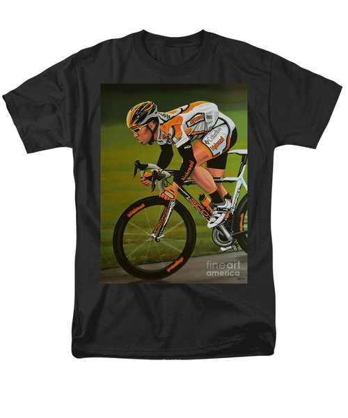Mark Cavendish T-Shirt by Paul Meijering
