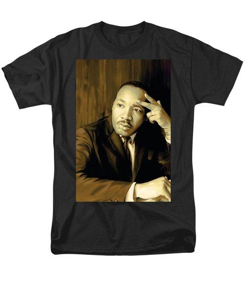Martin Luther King Jr Artwork T-Shirt by Sheraz A