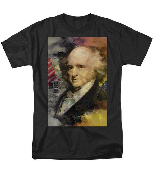 Martin Van Buren T-Shirt by Corporate Art Task Force