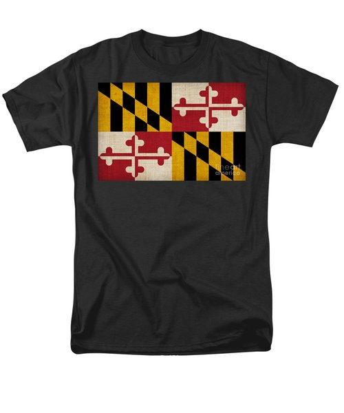 Maryland state flag T-Shirt by Pixel Chimp