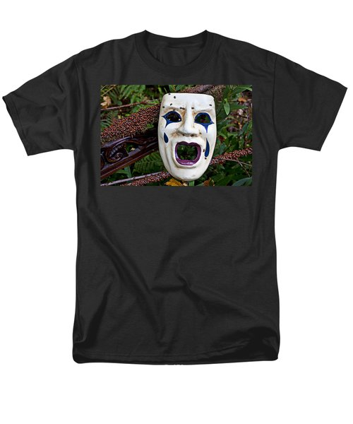 Mask and ladybugs T-Shirt by Garry Gay