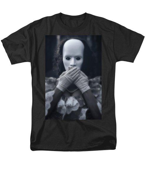 masked woman T-Shirt by Joana Kruse