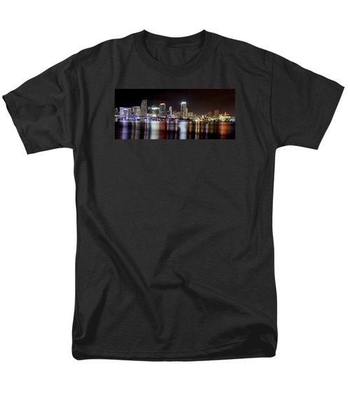 Miami - Florida  Men's T-Shirt  (Regular Fit) by Brendan Reals