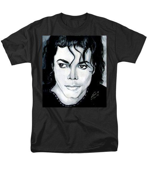 Michael Jackson Portrait Men's T-Shirt  (Regular Fit) by Alban Dizdari