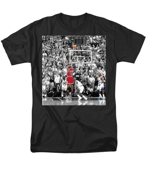 Michael Jordan Buzzer Beater T-Shirt by BRIAN REAVES