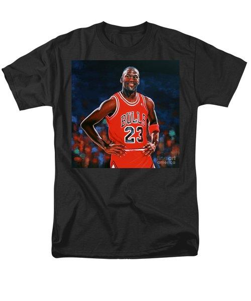 Michael Jordan T-Shirt by Paul Meijering