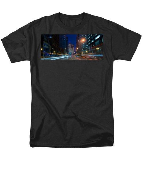 Michigan Avenue Chicago T-Shirt by Steve Gadomski