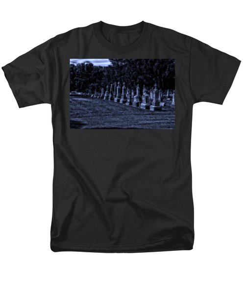 Midnight In The Garden Of Stones T-Shirt by Thomas Woolworth