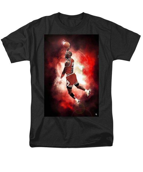 Mr. Michael Jeffrey Jordan aka Air Jordan MJ T-Shirt by Nicholas  Grunas