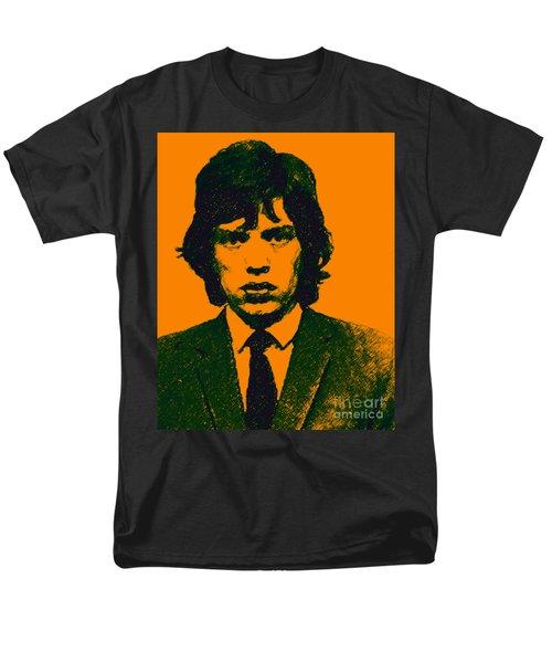 Mugshot Mick Jagger p0 T-Shirt by Wingsdomain Art and Photography