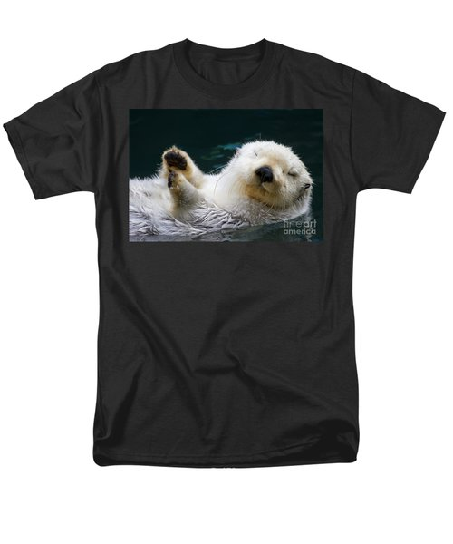 Napping On The Water Men's T-Shirt  (Regular Fit) by Mike  Dawson