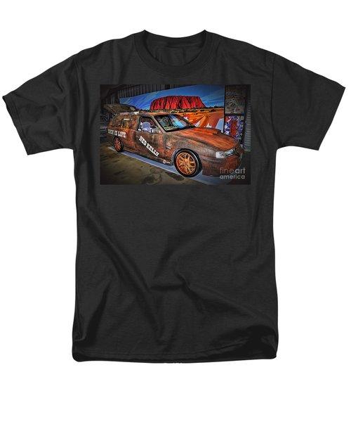 Ned Kelly's Car at Ayers Rock T-Shirt by Kaye Menner