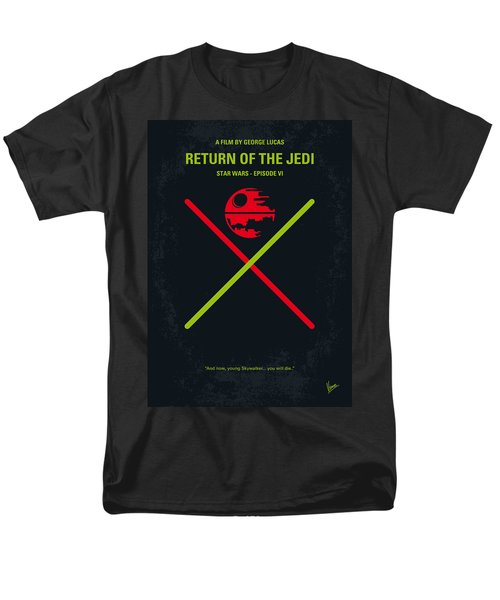 No156 My STAR WARS Episode VI Return of the Jedi minimal movie poster T-Shirt by Chungkong Art