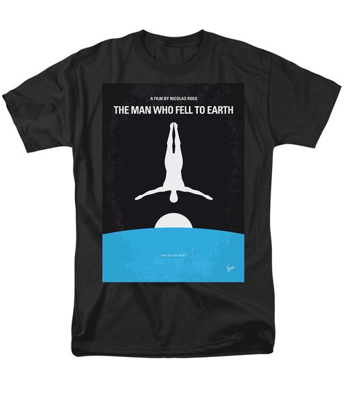 No208 My The Man Who Fell to Earth minimal movie poster T-Shirt by Chungkong Art