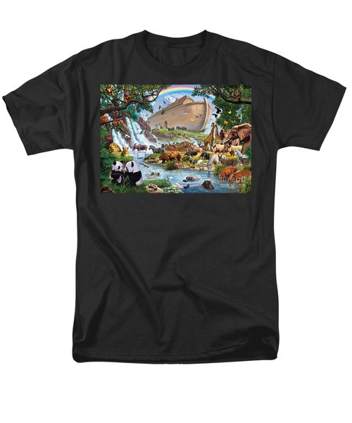 Noahs Ark - The Homecoming Men's T-Shirt  (Regular Fit) by Steve Crisp