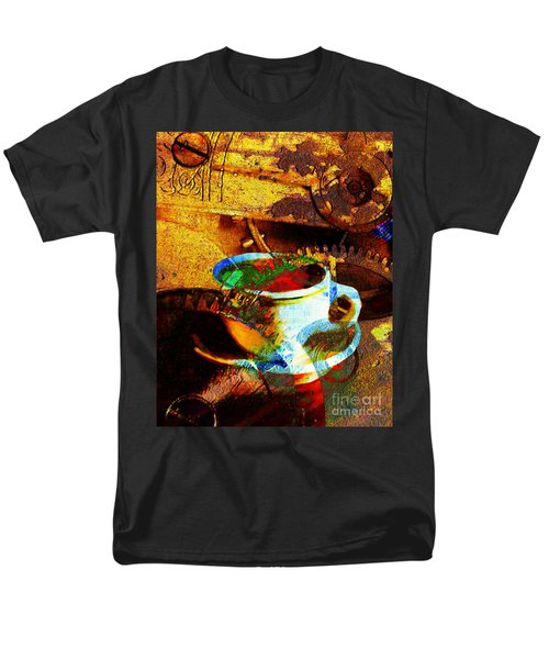 Nothing Like A Hot Cuppa Joe In The Morning To Get The Old Wheels Turning 20130718 T-Shirt by Wingsdomain Art and Photography