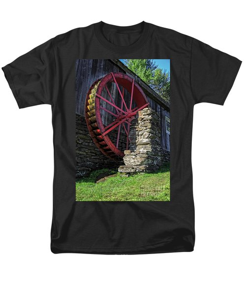 Old Grist Mill Vermont T-Shirt by Edward Fielding