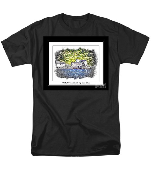 Old Homestead by the Sea T-Shirt by Barbara Griffin