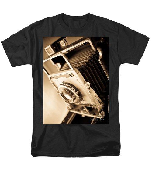 Old Press Camera T-Shirt by Edward Fielding