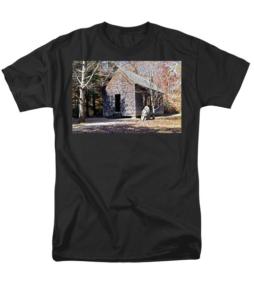 Old Schoolhouse Building T-Shirt by Susan Leggett