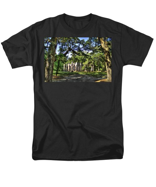 Old Sheldon Church Ruins near Beaufort SC T-Shirt by Reid Callaway