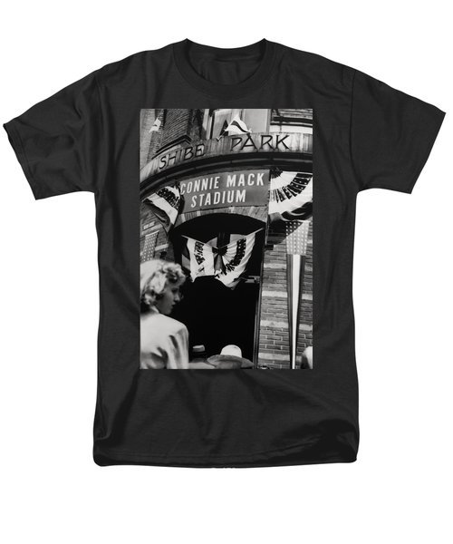 Old Shibe Park - Connie Mack Stadium T-Shirt by Bill Cannon