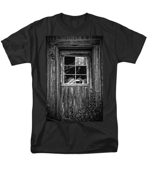 Old Window T-Shirt by Garry Gay