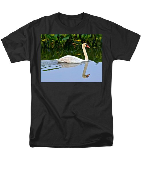 On the Swanny River T-Shirt by Frozen in Time Fine Art Photography