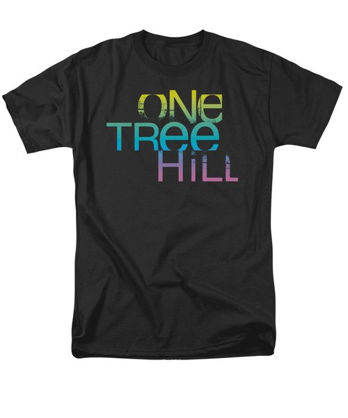 One Tree Hill - Color Blend Logo Men's T-Shirt  (Regular Fit) by Brand A
