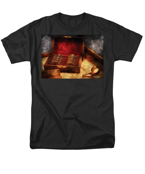 Optician - A box of Occulars  T-Shirt by Mike Savad