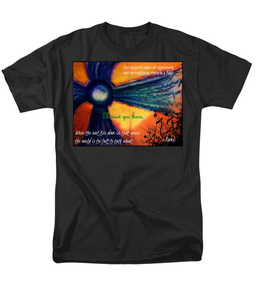 Out Beyond Ideas T-Shirt by Catherine McCoy