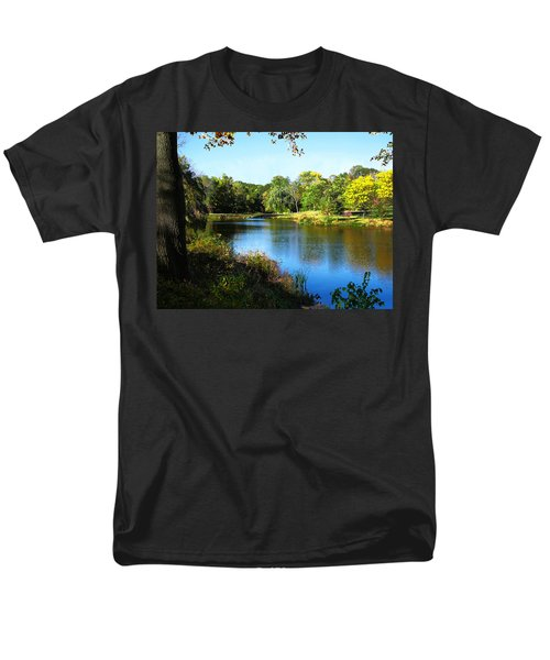 Peaceful Lake T-Shirt by Susan Savad