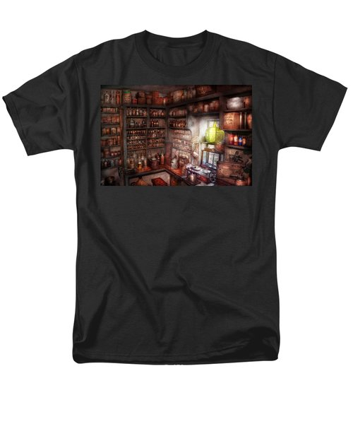 Pharmacy - Equipment - Merlin's Study T-Shirt by Mike Savad