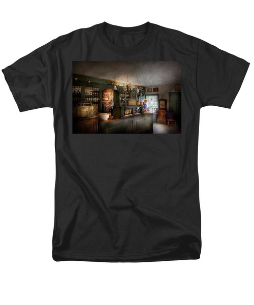 Pharmacy - Morning Preparations T-Shirt by Mike Savad