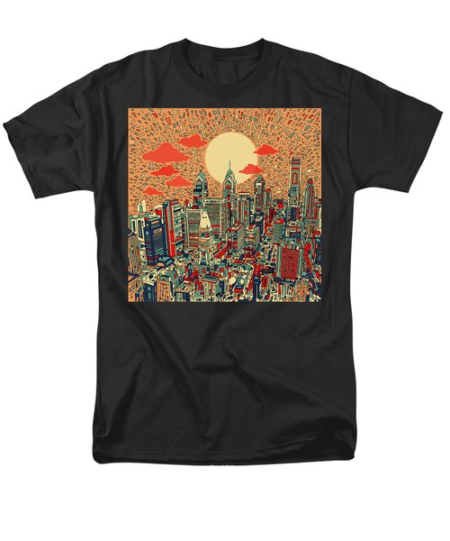 Philadelphia Dream Men's T-Shirt  (Regular Fit) by Bekim Art