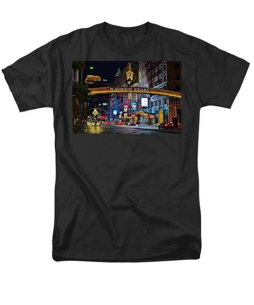Playhouse Square Men's T-Shirt  (Regular Fit) by Frozen in Time Fine Art Photography