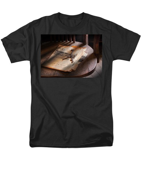 Police - The wardens keys T-Shirt by Mike Savad