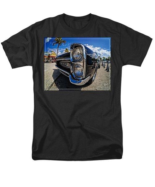 Pontiac GTO Convertible Ft Myers Beach Florida T-Shirt by Edward Fielding