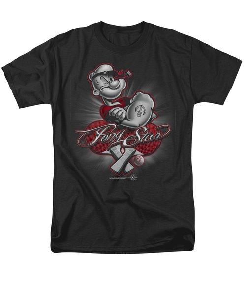 Popeye - Pong Star Men's T-Shirt  (Regular Fit) by Brand A