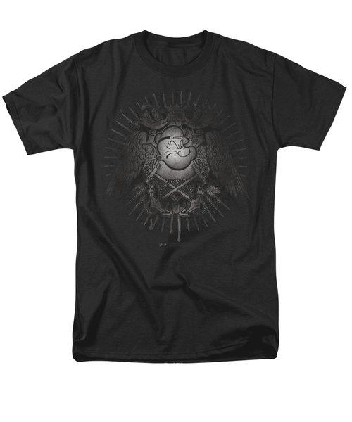 Popeye - Sailor Heraldry Men's T-Shirt  (Regular Fit) by Brand A