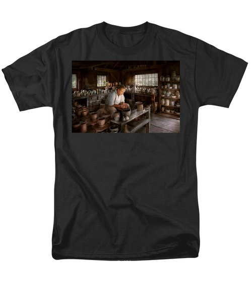 Potter - Raised in the clay T-Shirt by Mike Savad