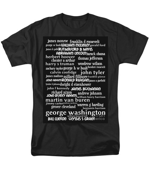 Presidents of The United States 20130625bw T-Shirt by Wingsdomain Art and Photography