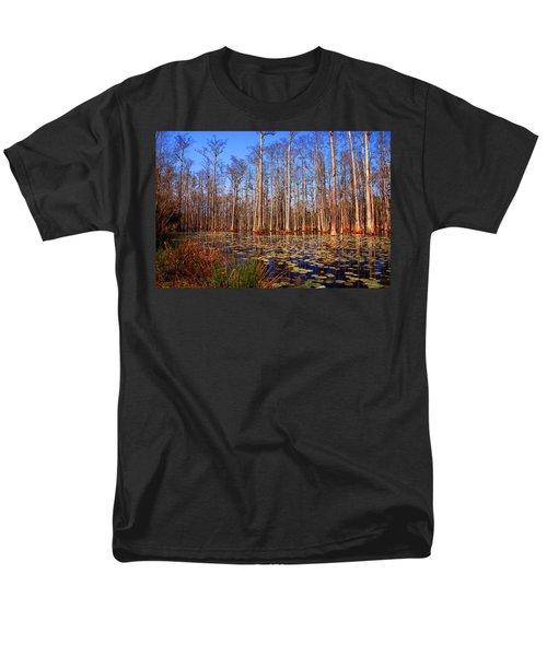 Pretty Swamp Scene T-Shirt by Susanne Van Hulst