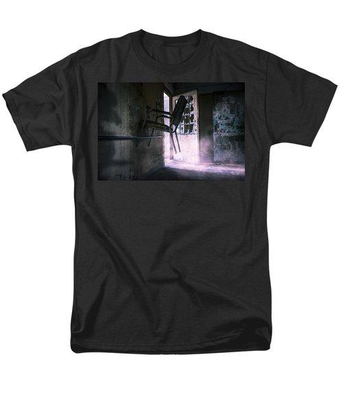 Purple Haze - Strange scene in an abandoned psychiatric facility T-Shirt by Gary Heller
